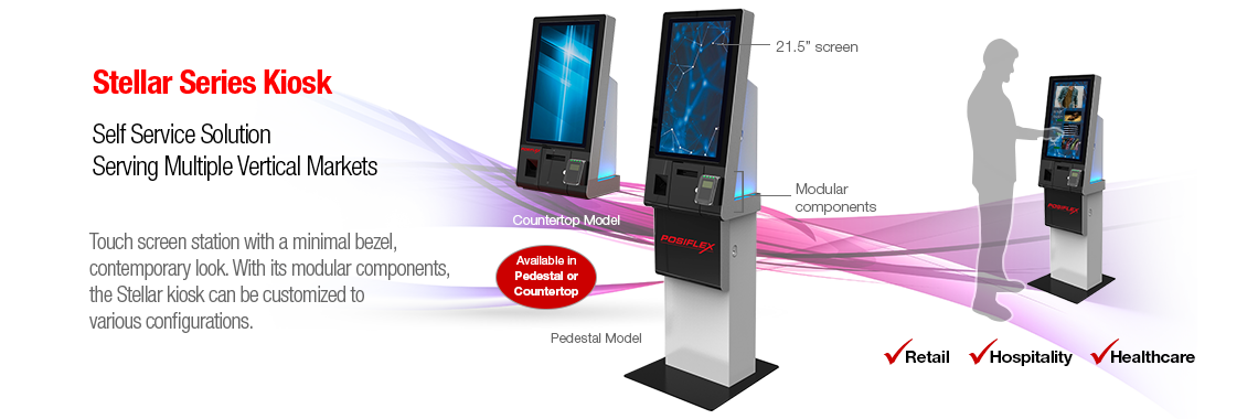 Stellar Series Kiosk - Self Service Solution
