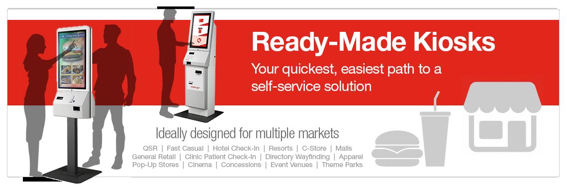 TK Series Ready-Made Kiosks