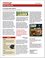 Case Study - Duffy's Sports Grill