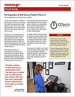 Case Study - OTech Self-Service Patient Check-In