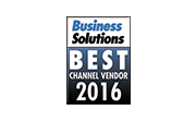 Best Channel Vendor 2016