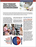 Tablet Technology Bridges Hospitality, Customer Engagement