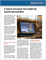 5 Ways to Make the Most of Your POS System