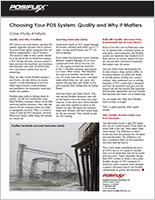 Choosing Your POS System: Quality and Why it Matters