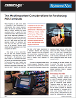 The Most Important Considerations for Purchasing POS Terminals