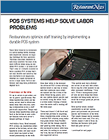 POS systems help solve labor problems