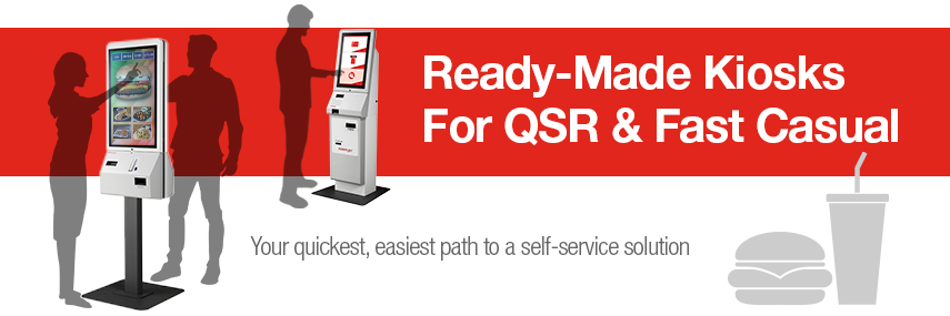 Ready Made Kiosks For Qsr And Fast Casual