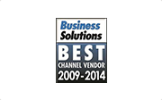Best Channel Vendor 2009-2014